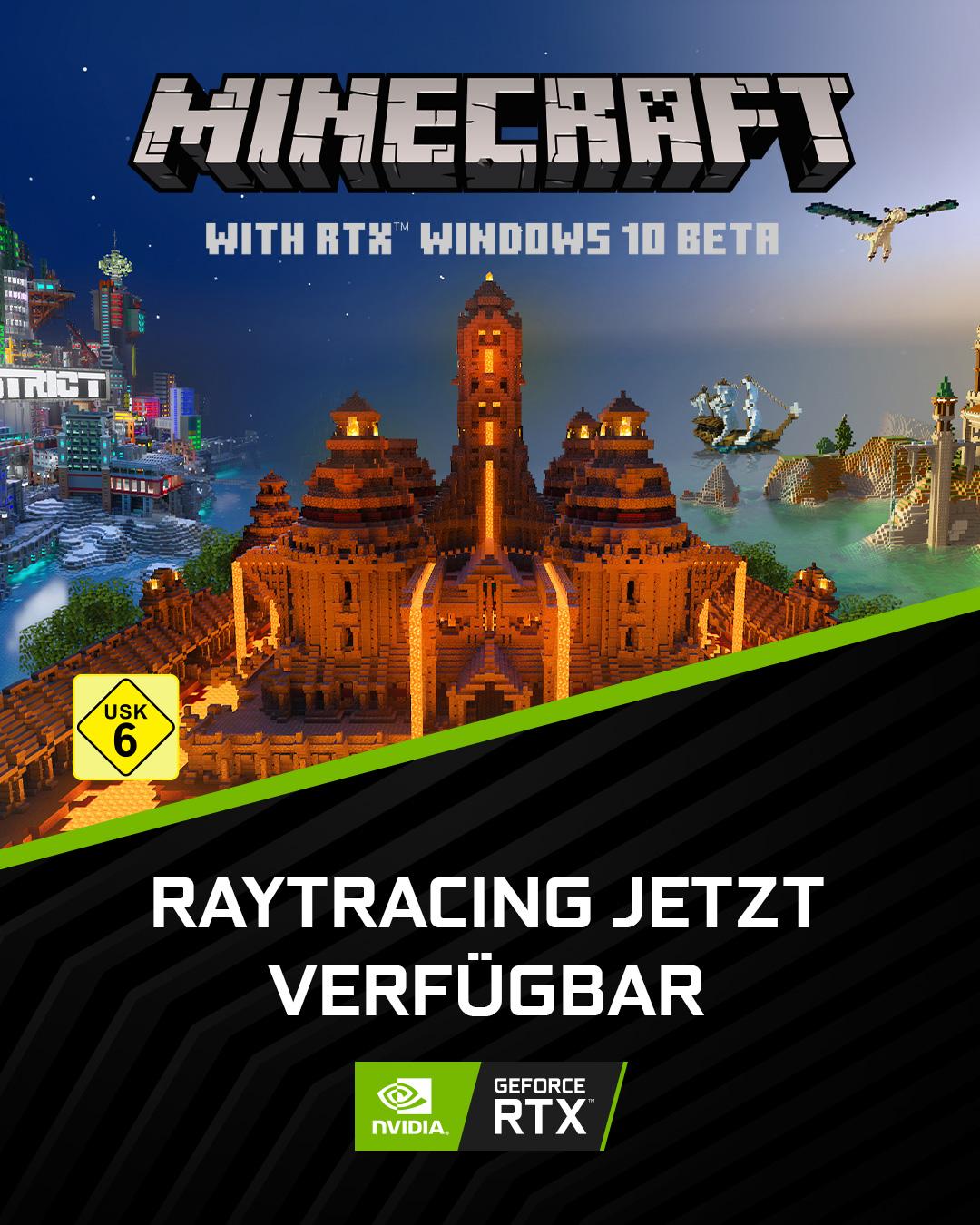 Minecraft - RTX Win10 Beta