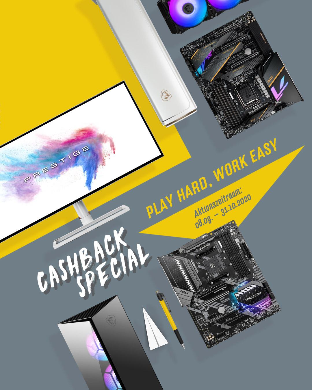 Cashback Specials 2020
