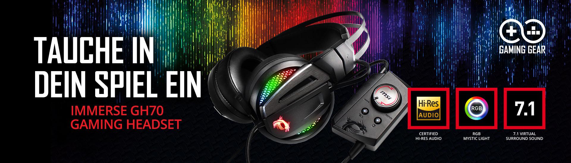 GH 70 Headset