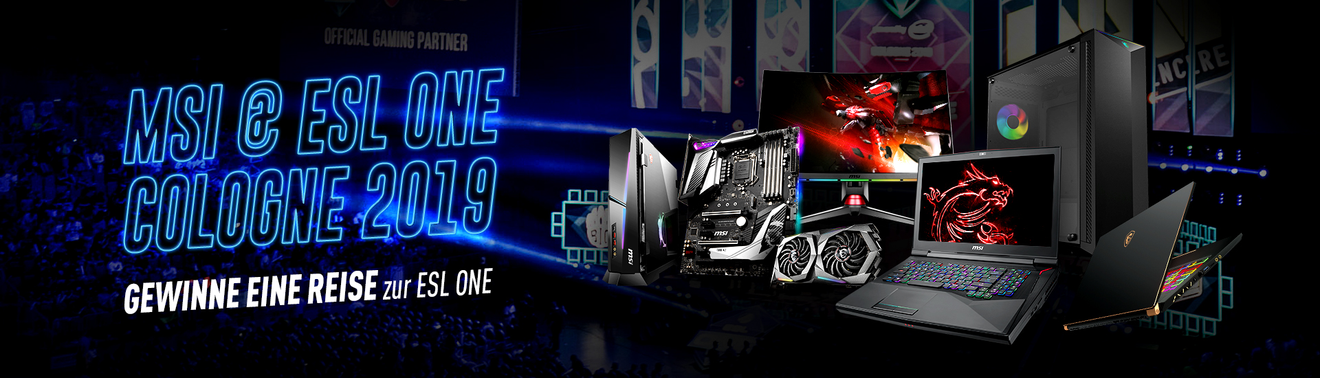 MSI X ESL ONE COLOGNE 2019