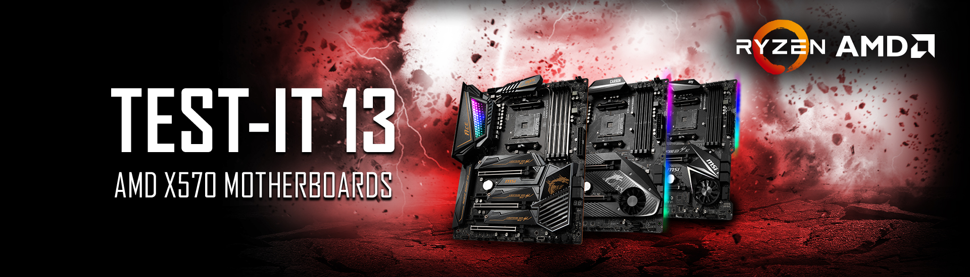 TEST-IT 13 - X570 Motherboards