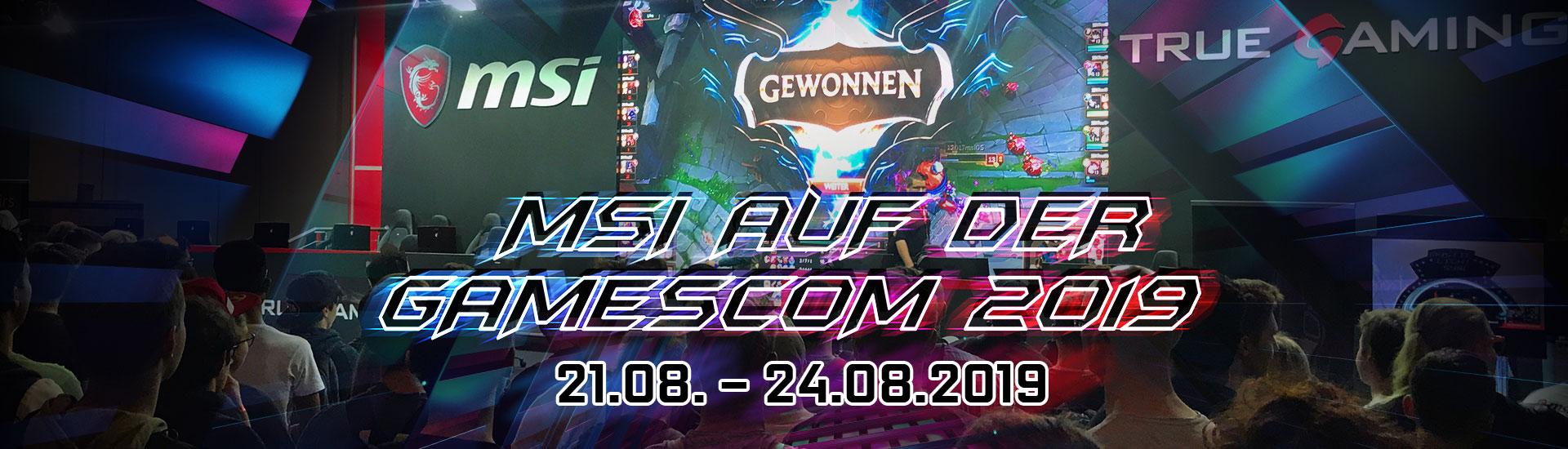 MSI at GamesCom 2019