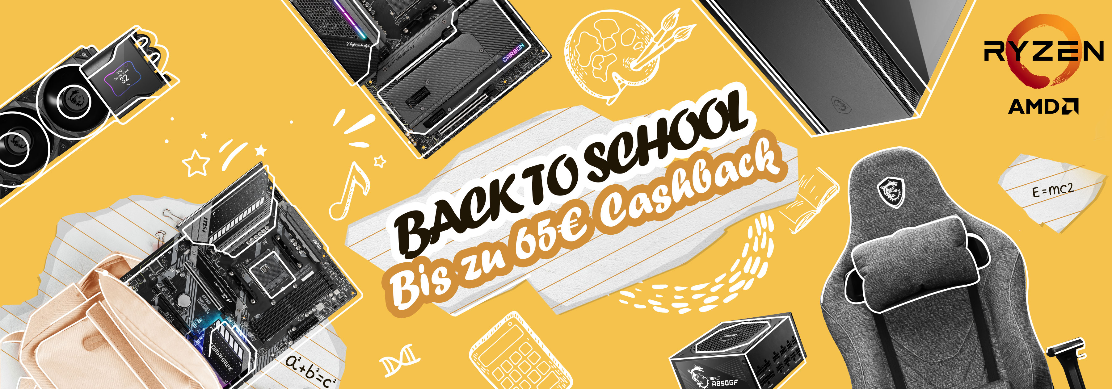Back to School Cashback