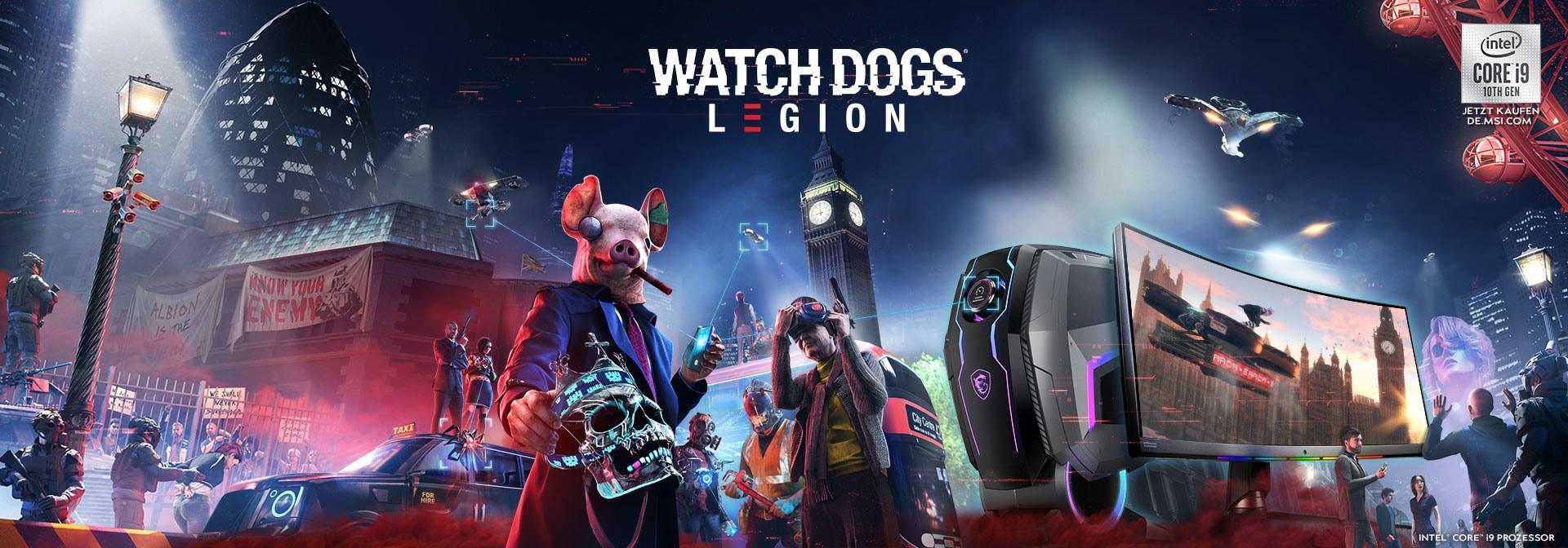 Watch Dogs Legion game bundle