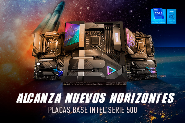 Placas base MSI serie Z590