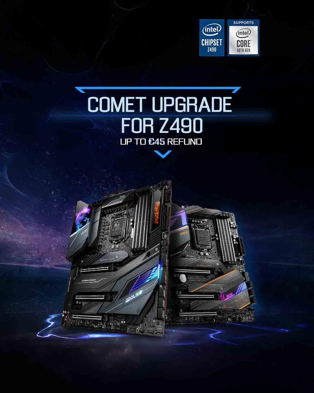 Comet upgrade Z490