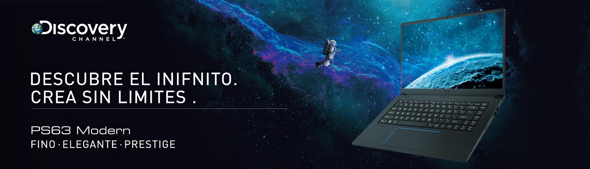 Descubre el infinito, crea sin límites