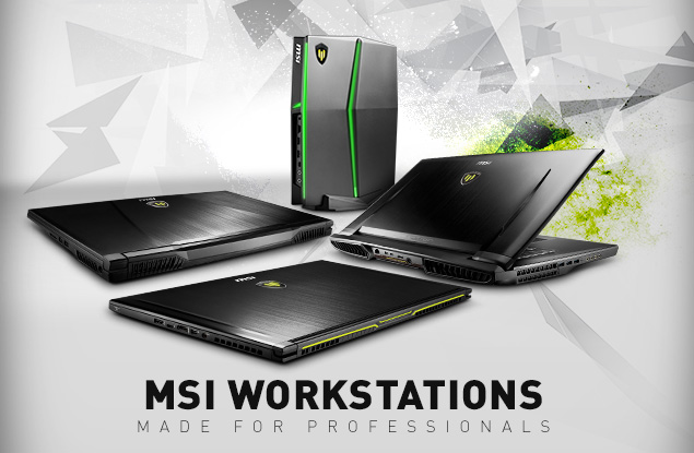 MSI Workstations