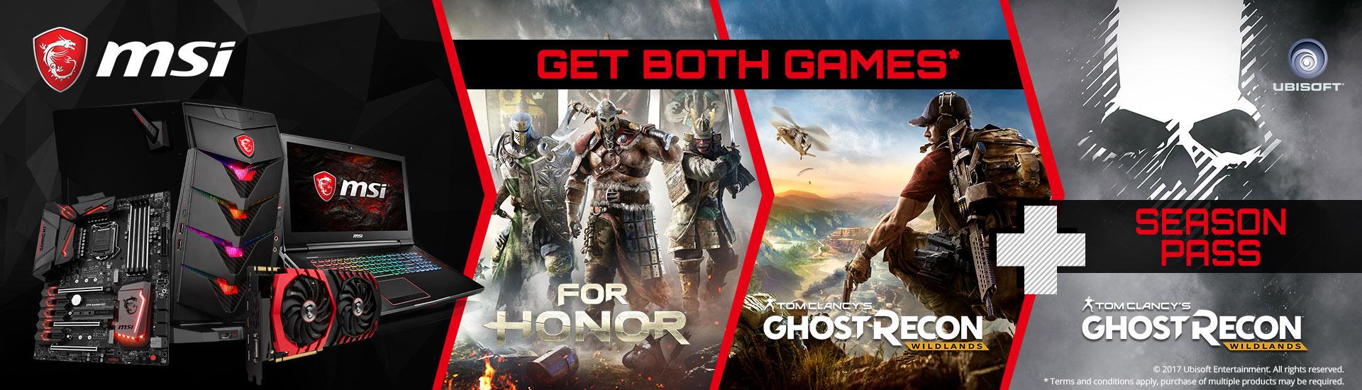 MSI Gaming Motherboard – For Honor Game Bundle