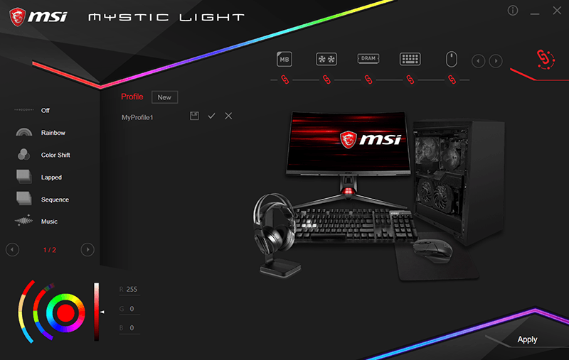 Mystic Light RGB Gaming PC - Recommended RGB PC Parts
