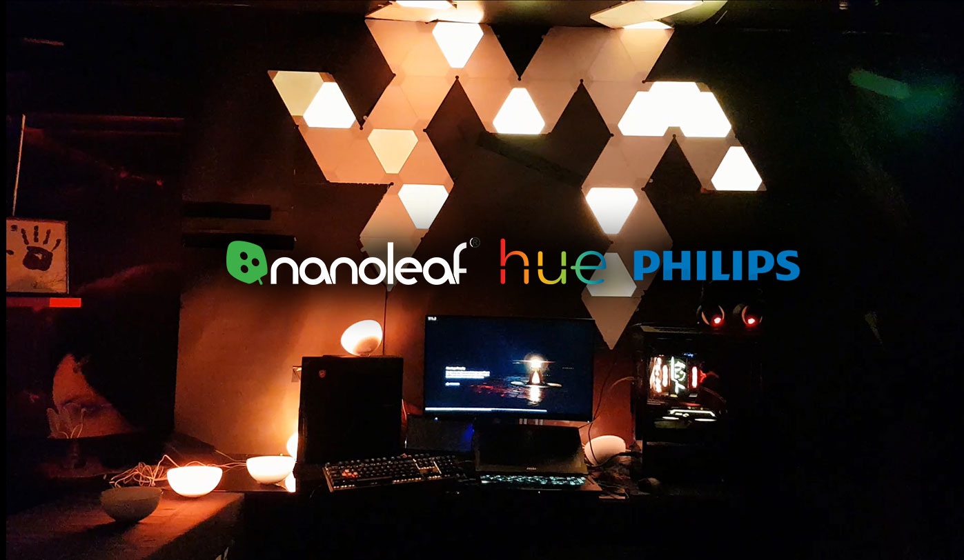 Sync With Nanoleaf and Philip Hue