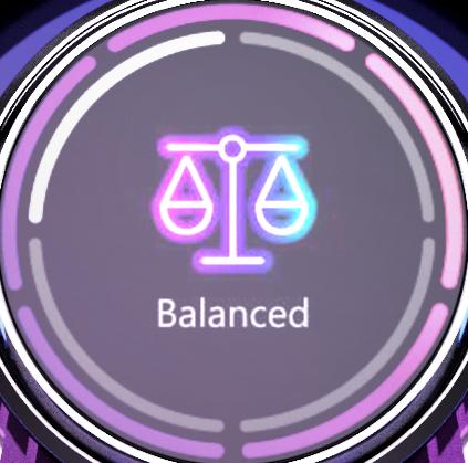 balanced mode