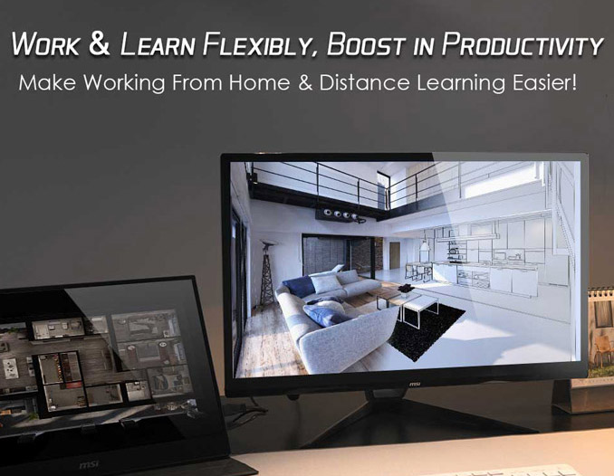 Work & Learn Flexibly, Boost in Productivity