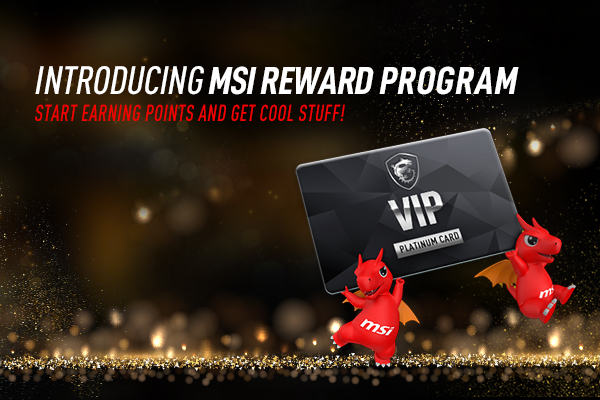 MSI rewards program