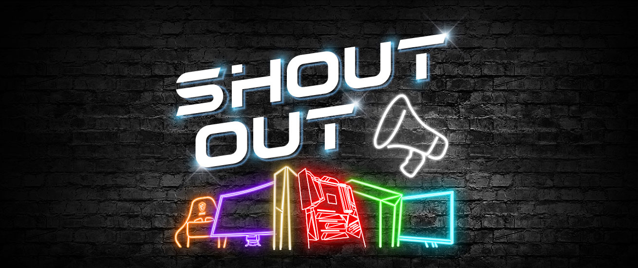 msi shout out banner