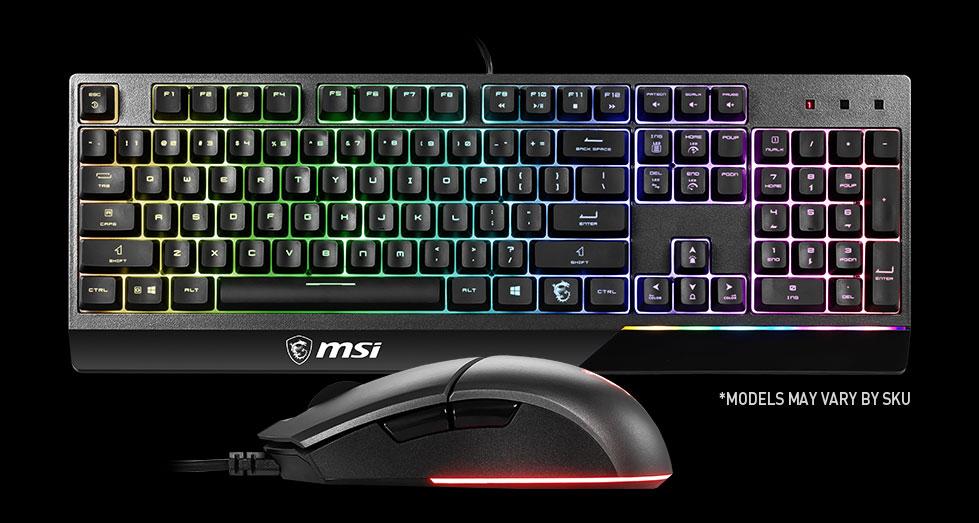 MSI keyboard + Mouse