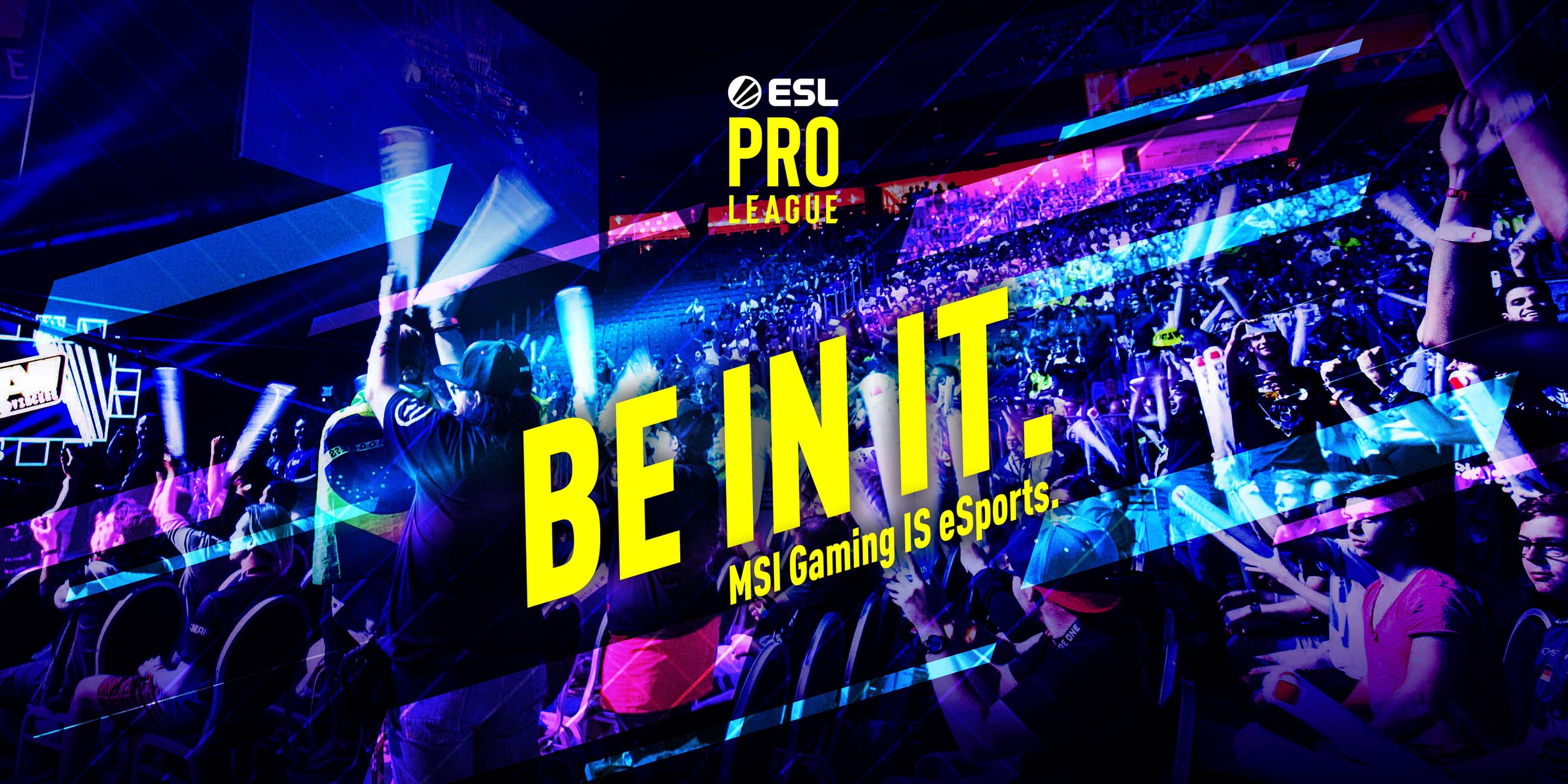ESL Pro League S12 banner
