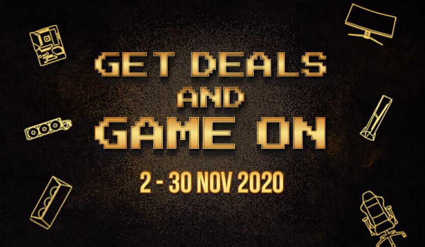 GET DEALS AND GAME ON