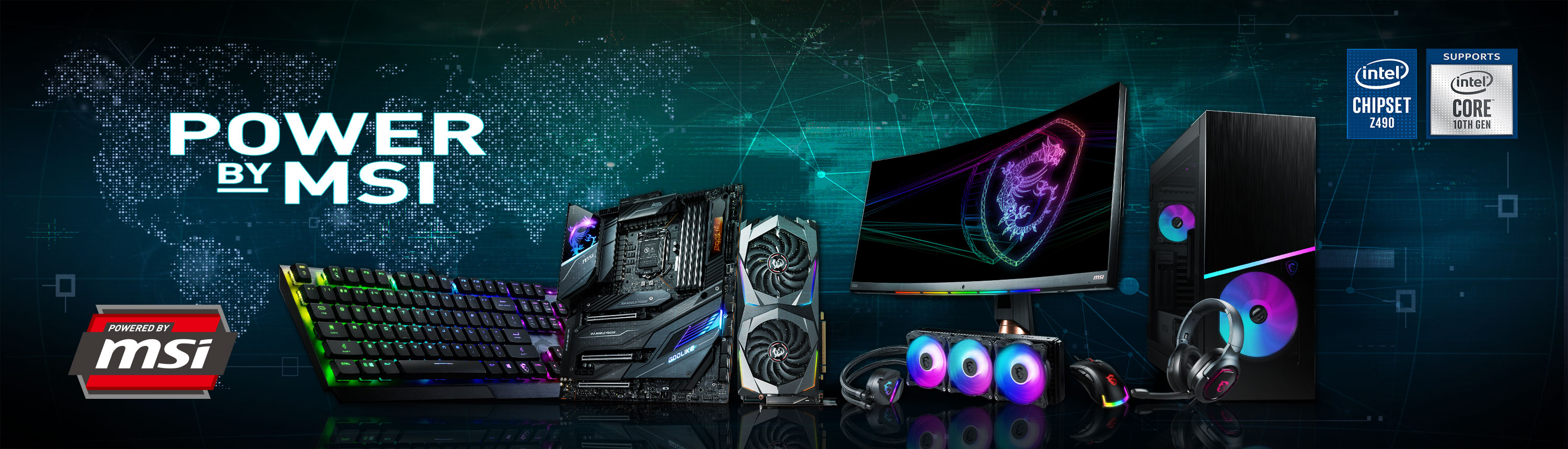 Power by msi