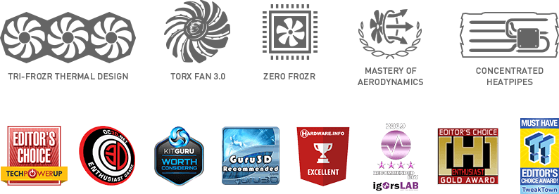 mis graphics card logos