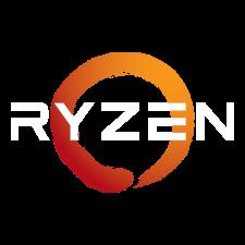 AMD B550 RYZEN LOGO