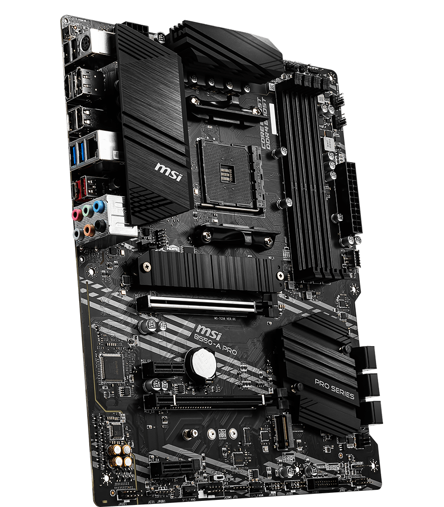 MSI MOTHERBOARDS B550-A PRO 3D3