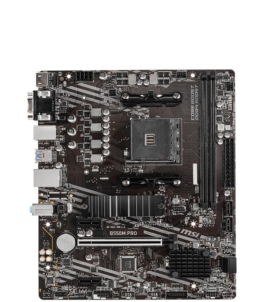 MSI MOTHERBOARDS B550M PRO 2D