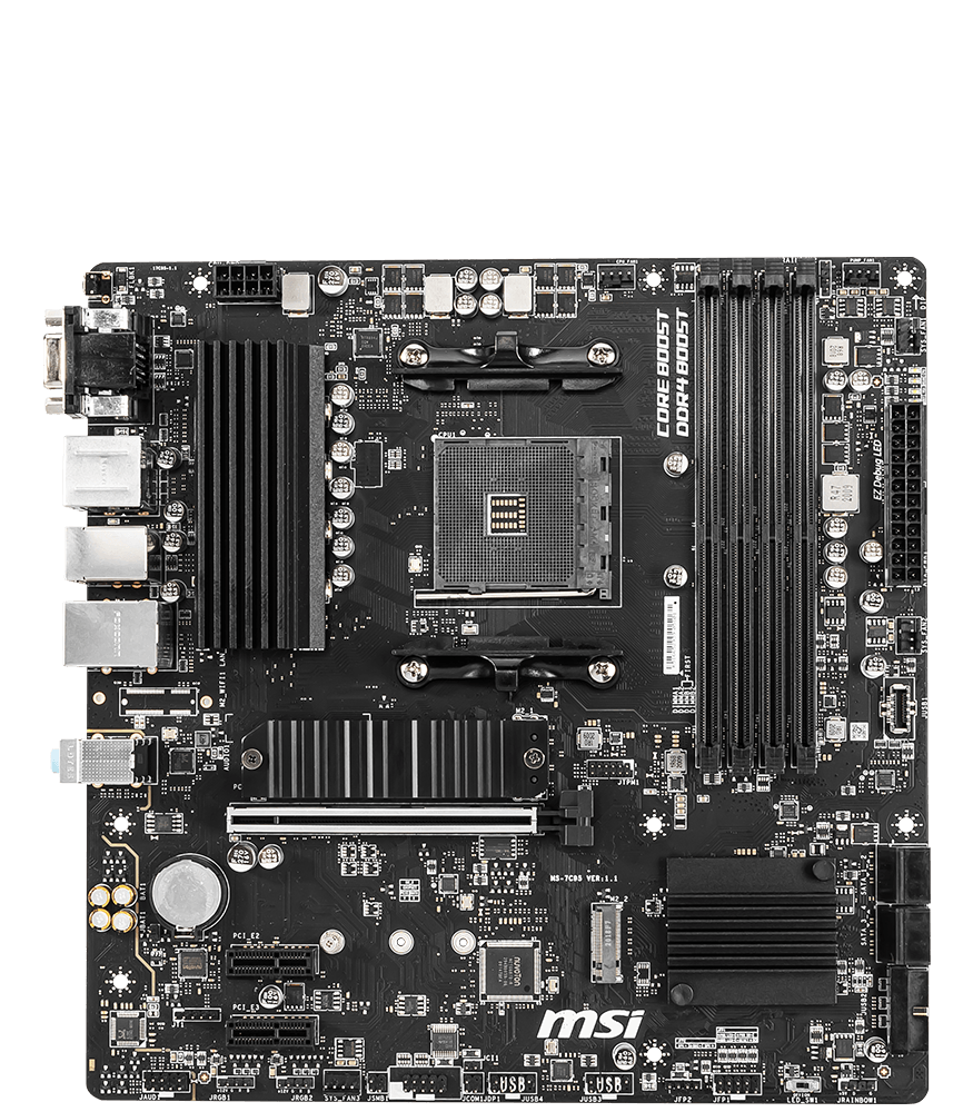 MSI MOTHERBOARDS B550M PRO-VDH 2D
