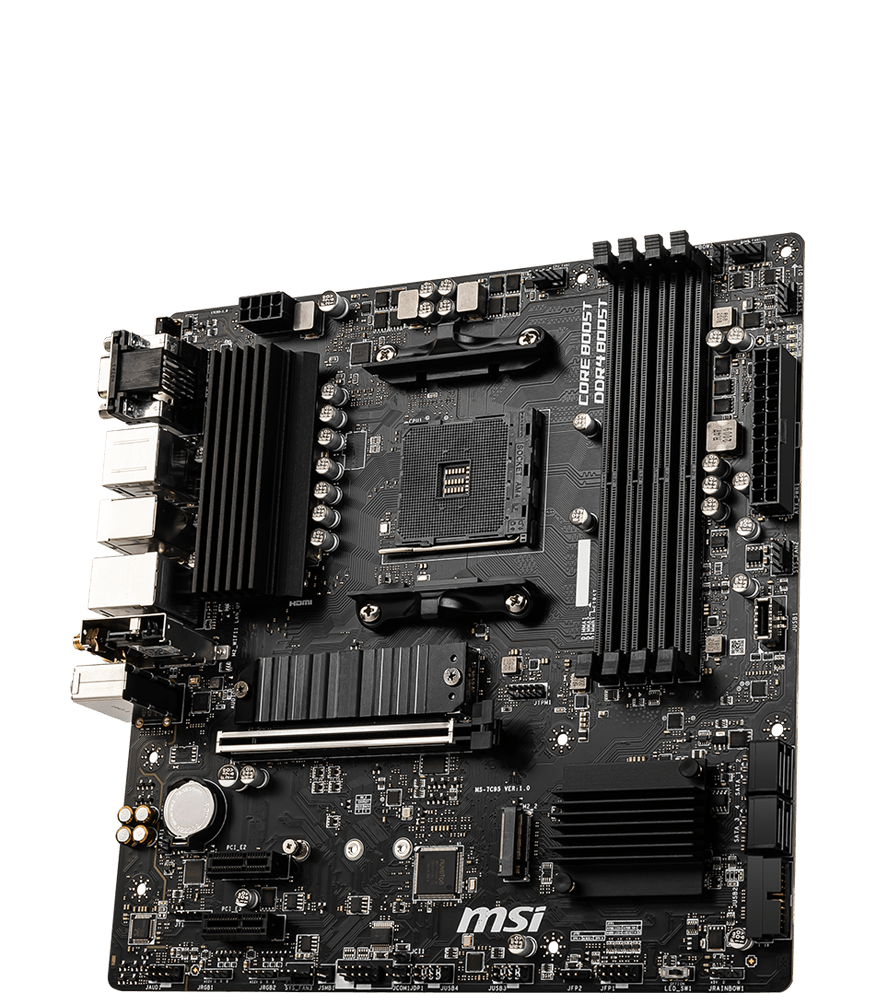 MSI MOTHERBOARDS B550M PRO-VDH WIFI 3D2