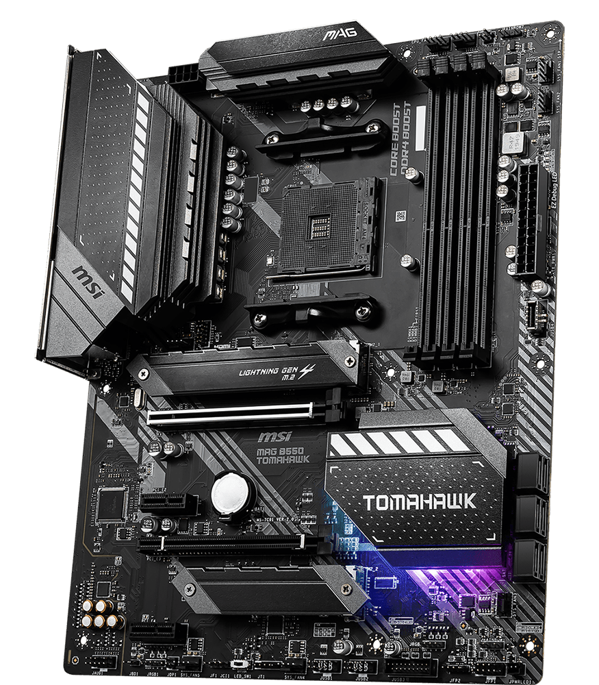 MSI MOTHERBOARDS B550 MAG TOMAHAWK 3D2