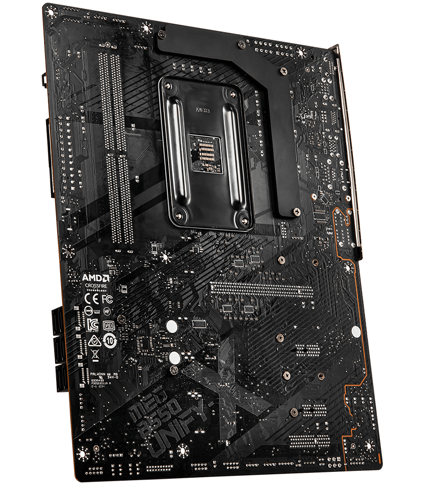 MSI MOTHERBOARDS B550 MEG B550 UNIFY-X BACK