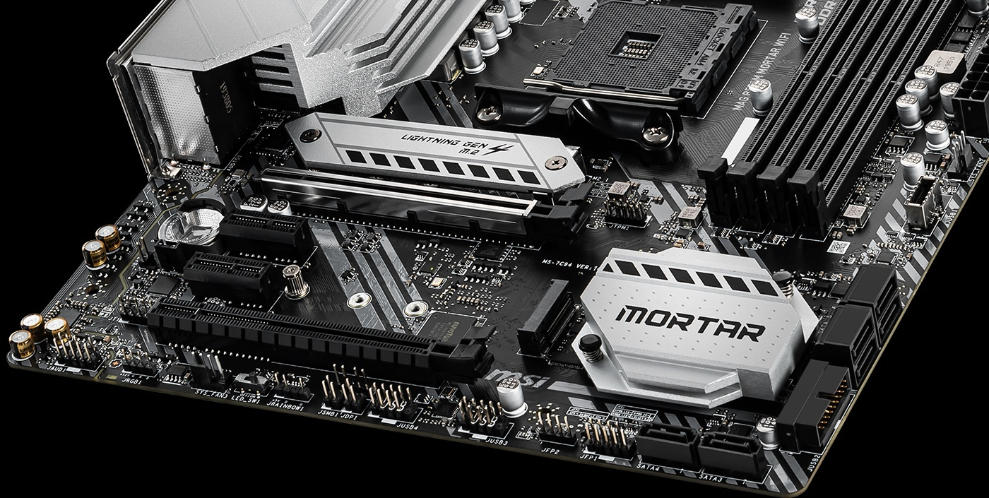 MSI MOTHERBOARDS B550 LIGHTNING GEN 4