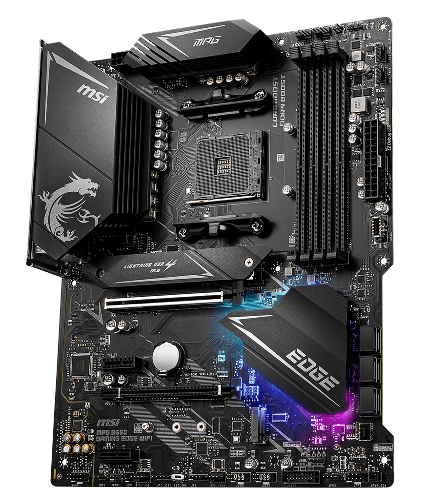 MSI MOTHERBOARDS B550 MPG GAMING EDGE WIFI 3D2