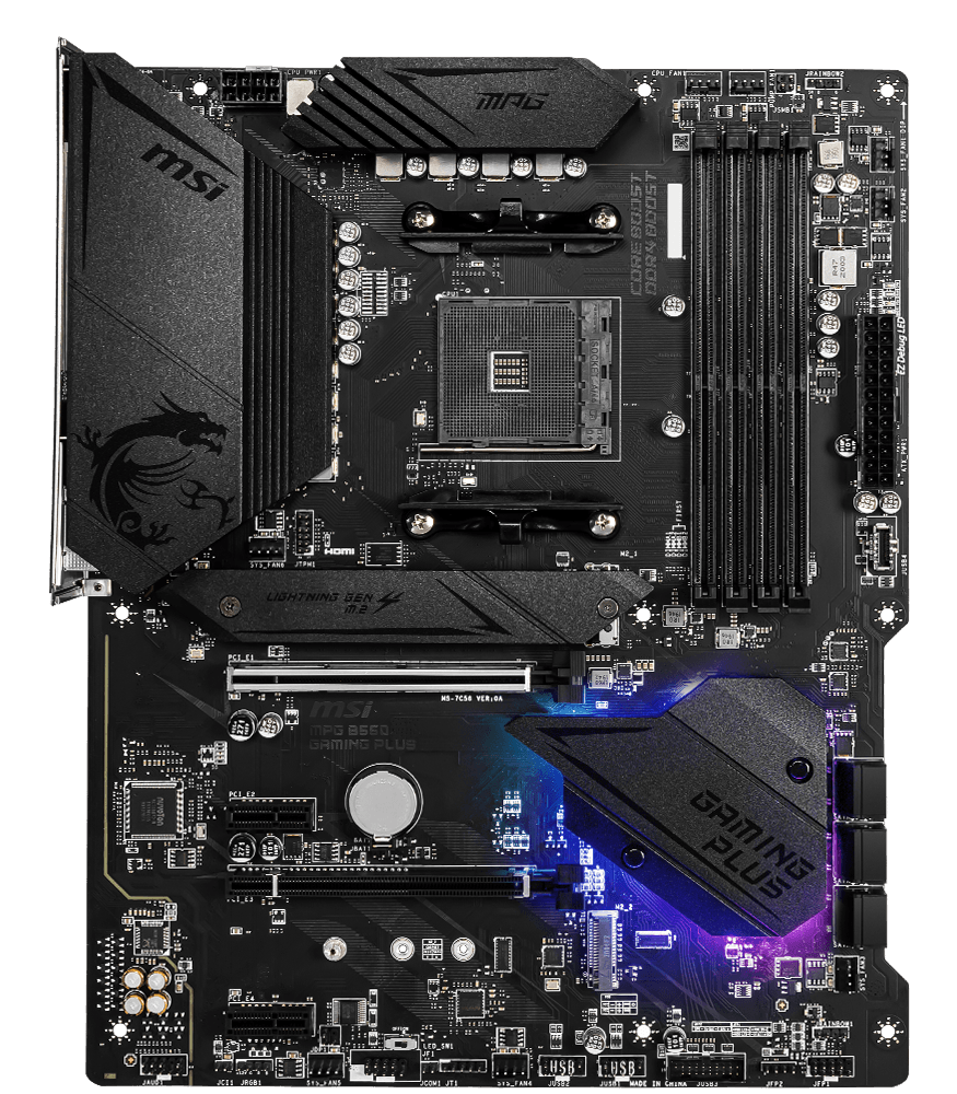 MSI MOTHERBOARDS B550 MPG GAMING PLUS 2D