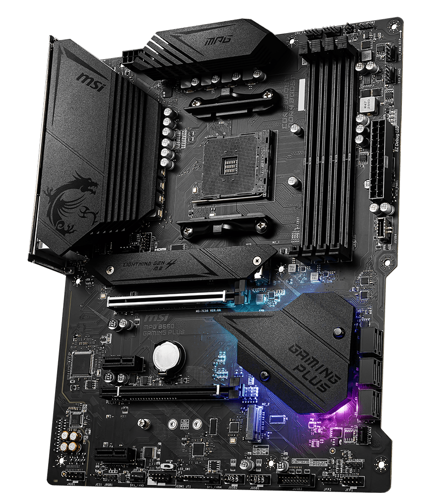 MSI MOTHERBOARDS B550 MPG GAMING PLUS 3D2