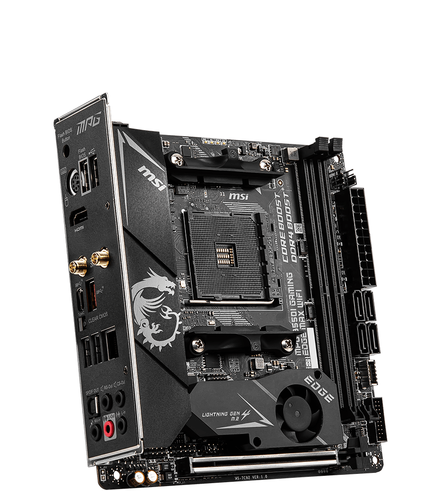 MSI MOTHERBOARDS B550I MPG GAMING EDGE MAX WIFI 3D3