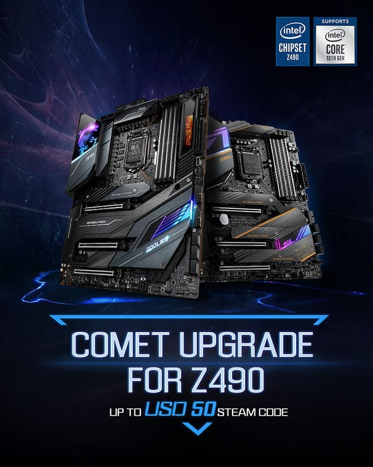COMET UPGRADE FOR Z490