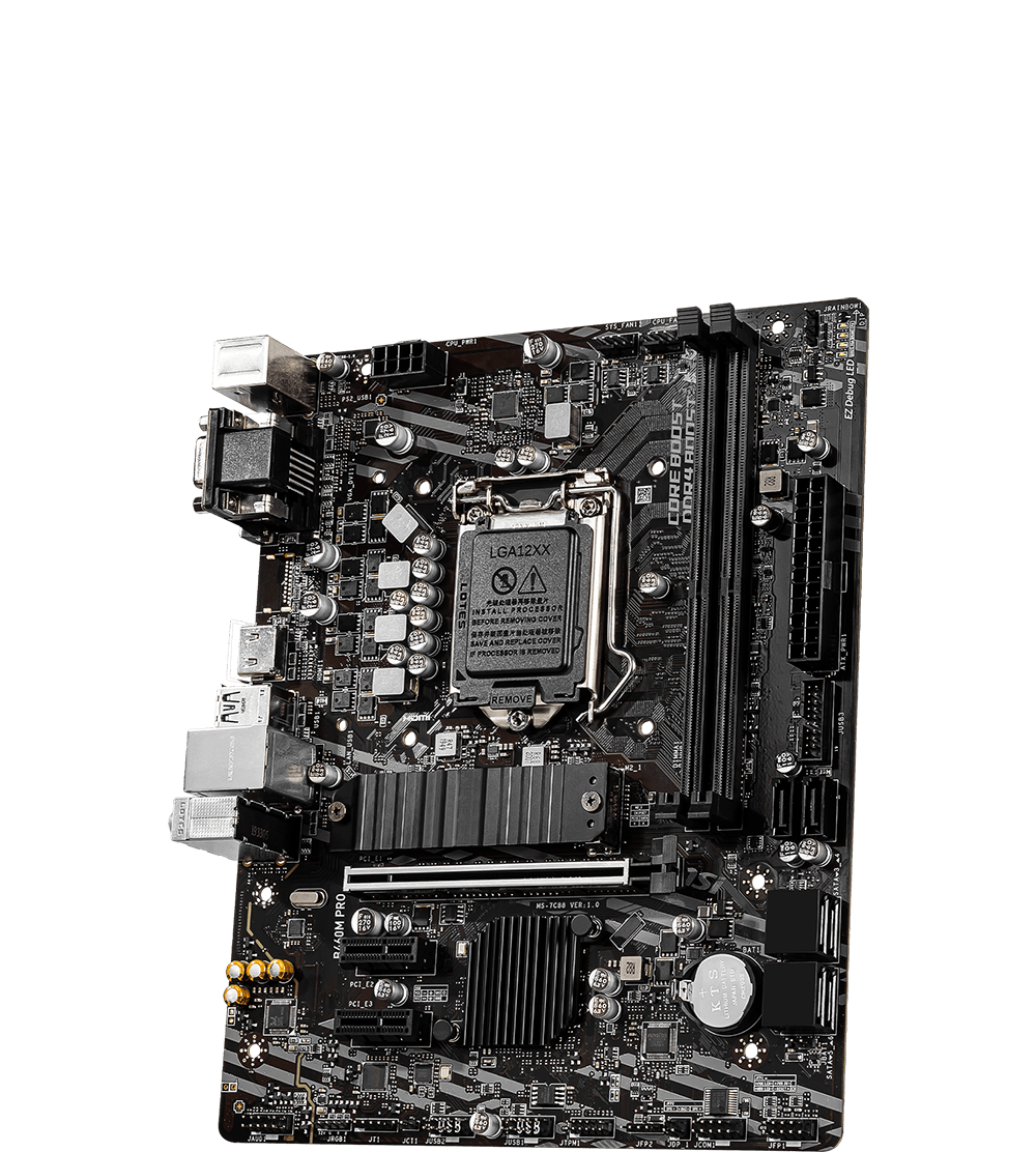 MSI MOTHERBOARDS B460M-PRO 3D2