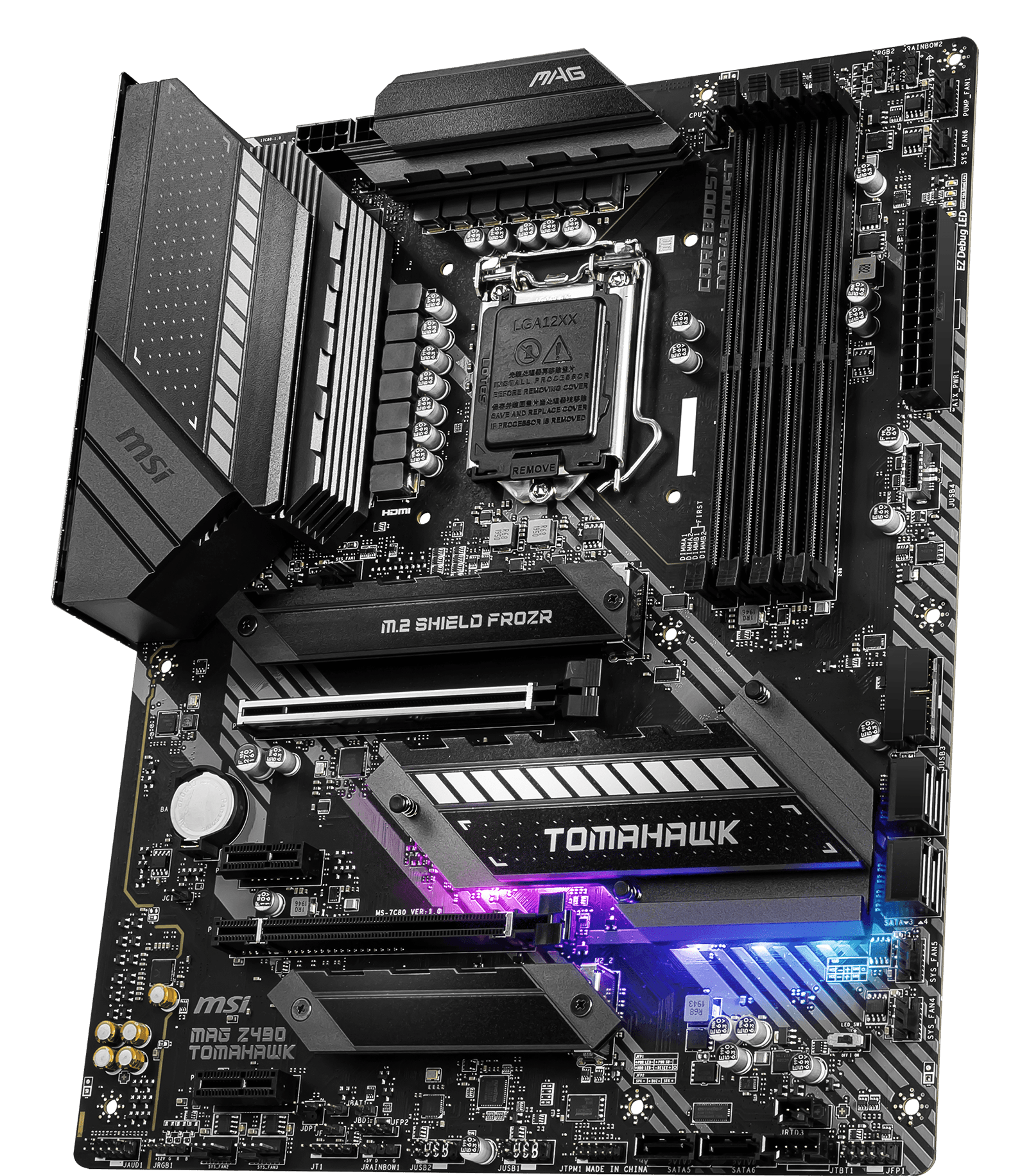 MSI MOTHERBOARDS Z490 MAG TOMAHAWK 3D2