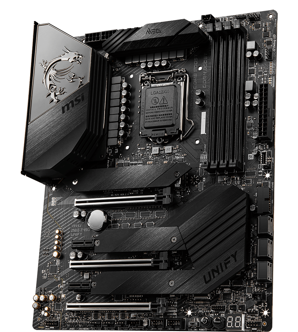 MSI MOTHERBOARDS Z490 MEG UNIFY 3D2