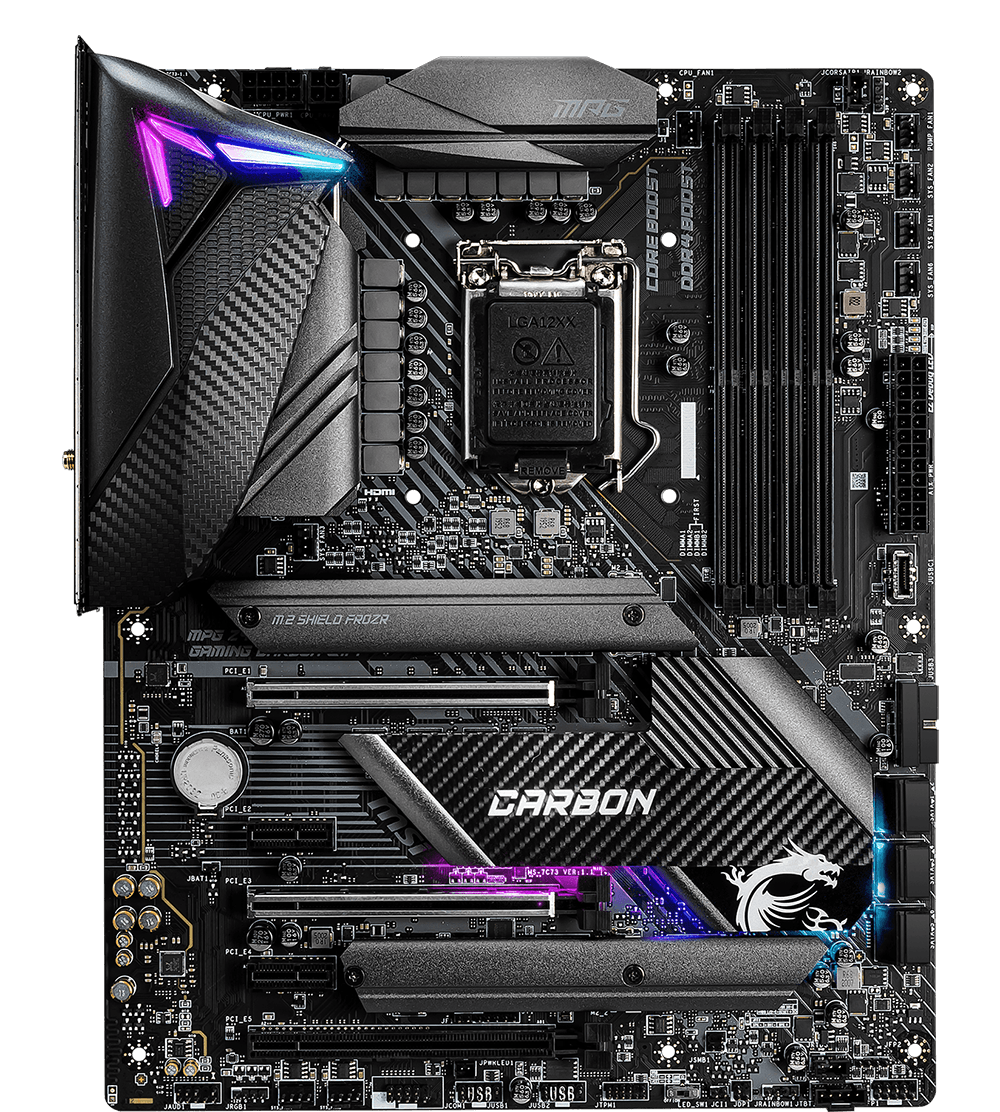 MSI MOTHERBOARDS Z490 MPG GAMING CARBON WIFI 2D