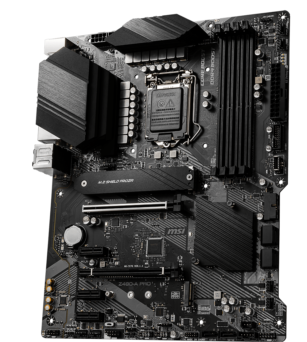 MSI MOTHERBOARDS Z490-A PRO 3D2