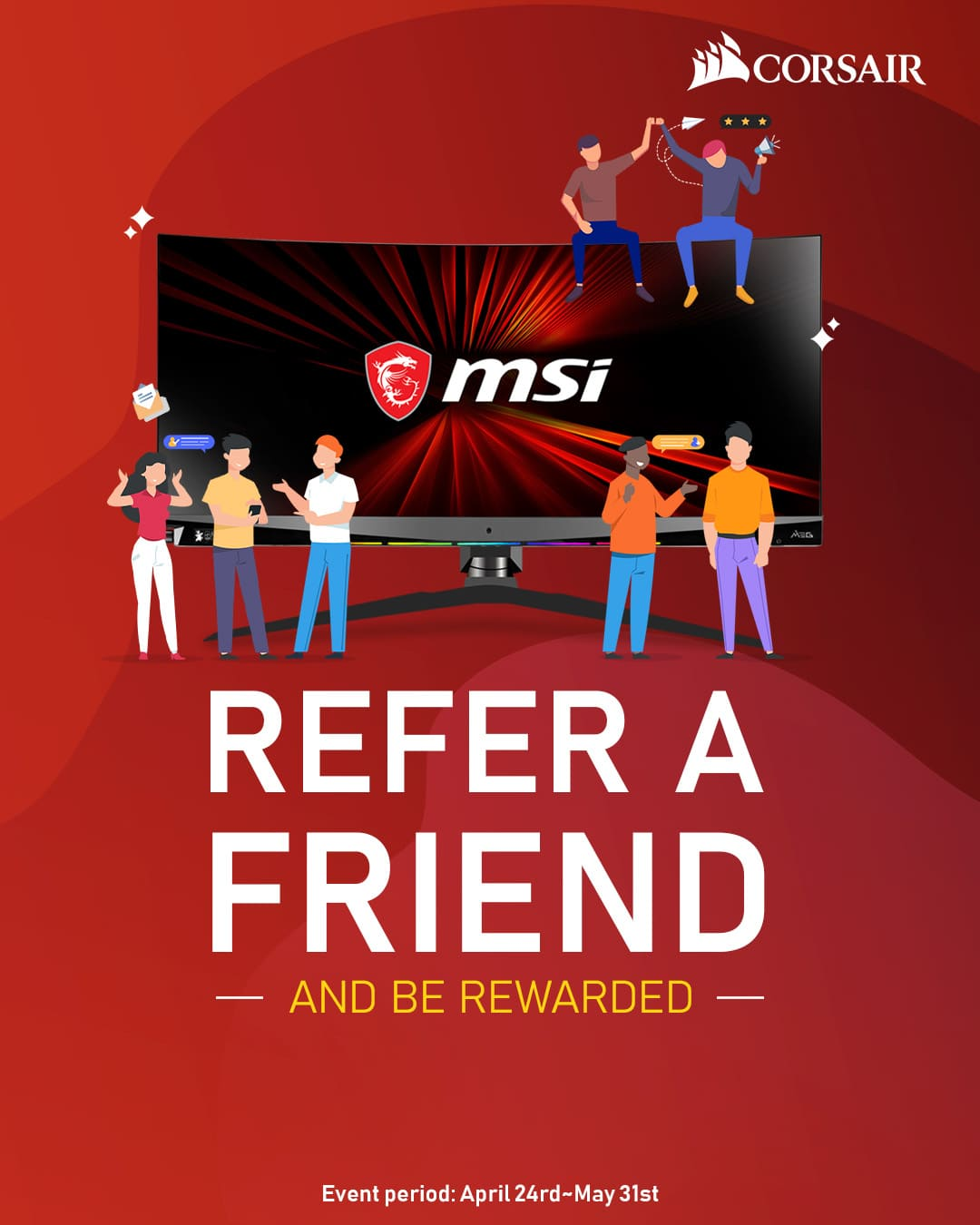 Monitor Refer A Friend campaign