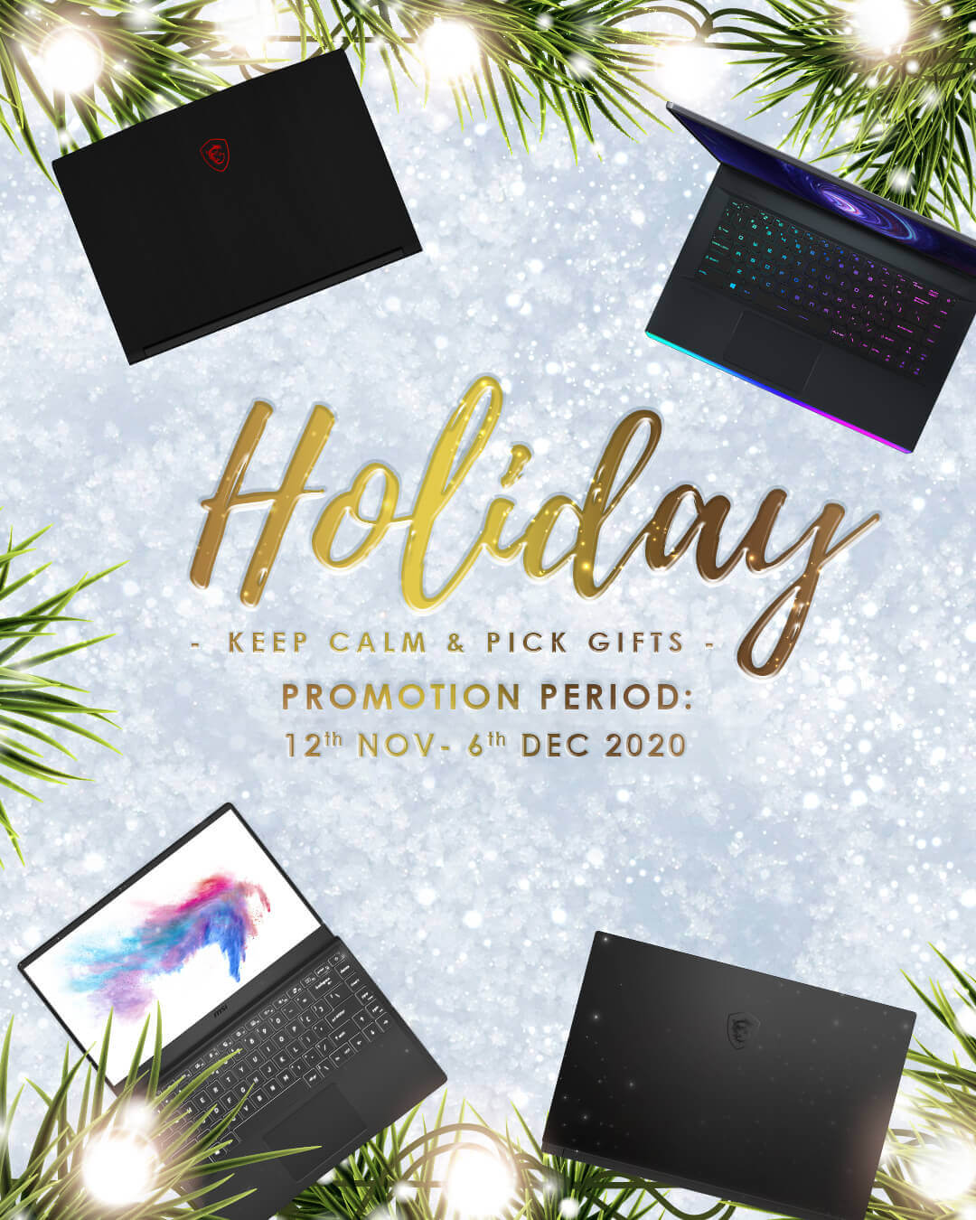 Holiday - Keep Calm & Pick Gifts