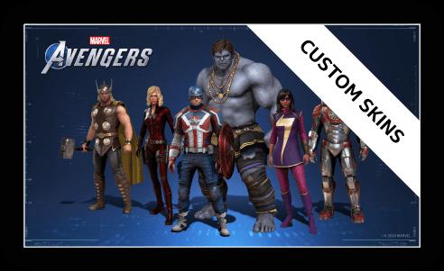 Avengers Custom Skins