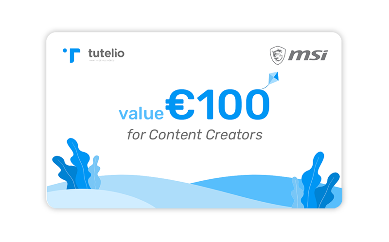 MSI tutelio 100coupon