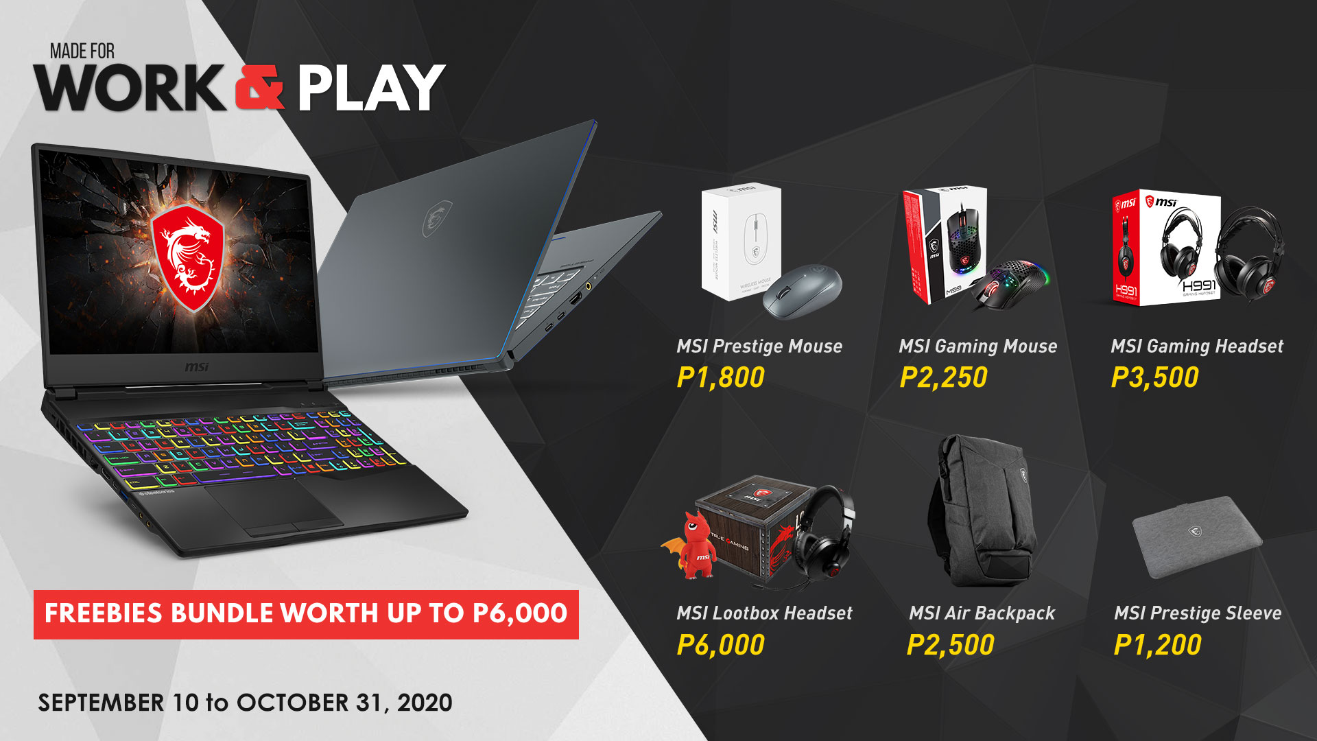 mis philippines  laptops  with gifts