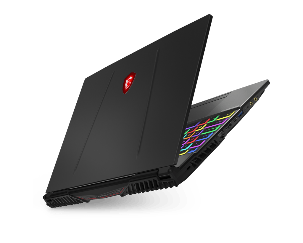 msi GT Titan series laptop