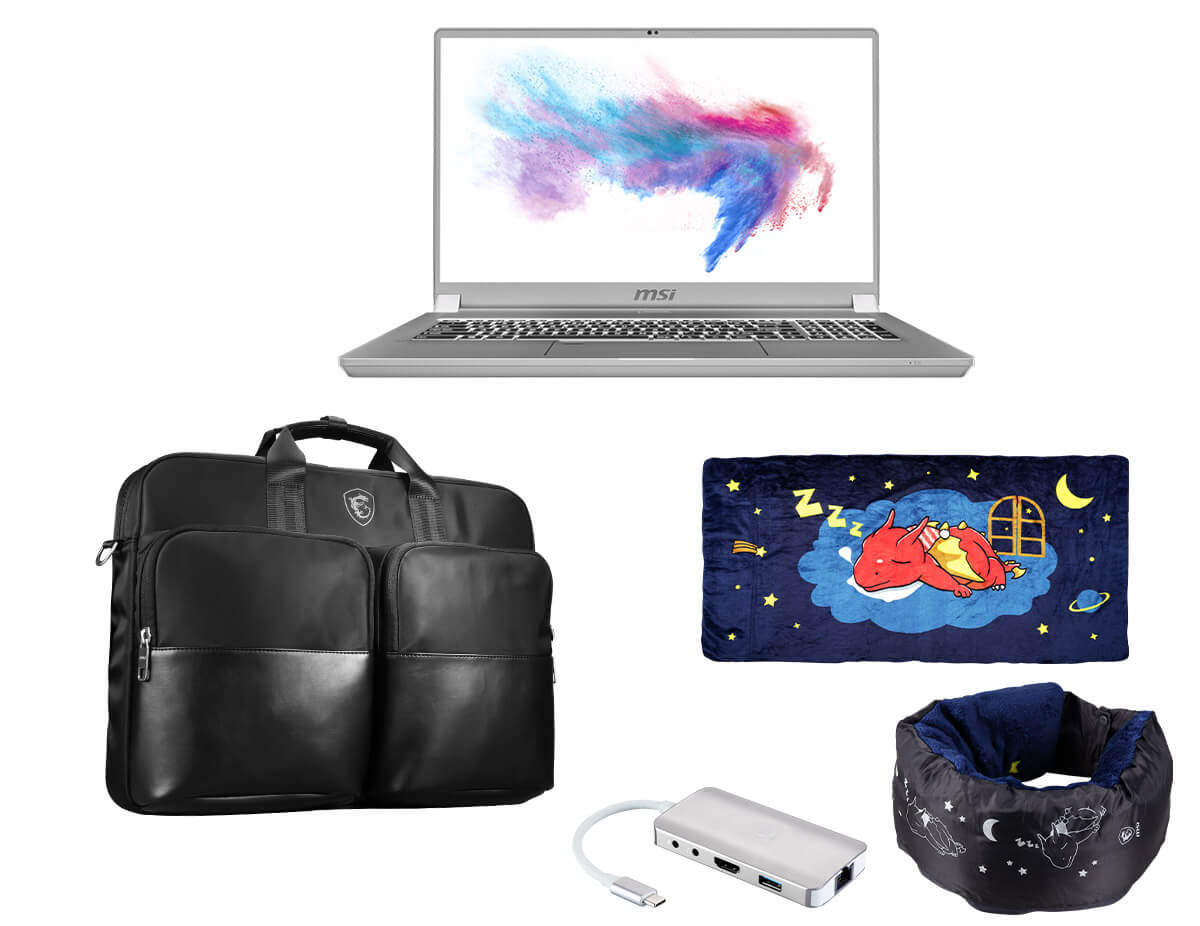 msi prestige laptop with 禮盒包