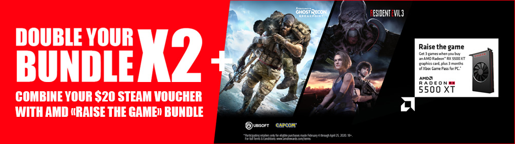 AMD bundle banner